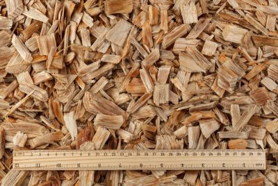 Wood chips mulch (20-40mm) – (Natural)