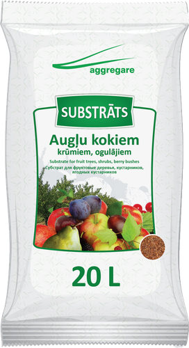 SUBSTRATUM FOR FRUIT TREES